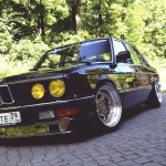 BMW E28 Bavaria : Low & Bow !