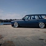 Slammed BMW E28 Touring... Break V.I.P !