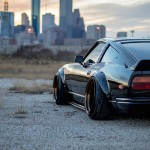 Black Datsun 280ZX... Le monstre !