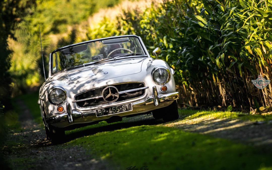 Mercedes 190 SL – La plus américaine des allemandes !