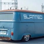 Slammed '71 VW Combi… Plus bas, ça frotte !