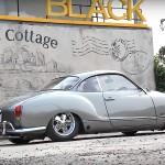 Slammed '74 Karmann Ghia… Simplement belle !
