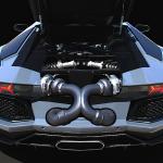 Lamborghini Aventador LP700-4… avec un p'tit duo de turbos !