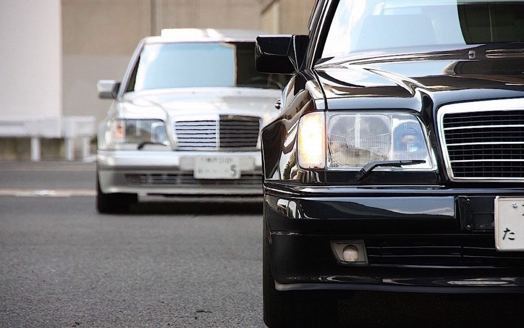 Mercedes 500E… Moscow Club !