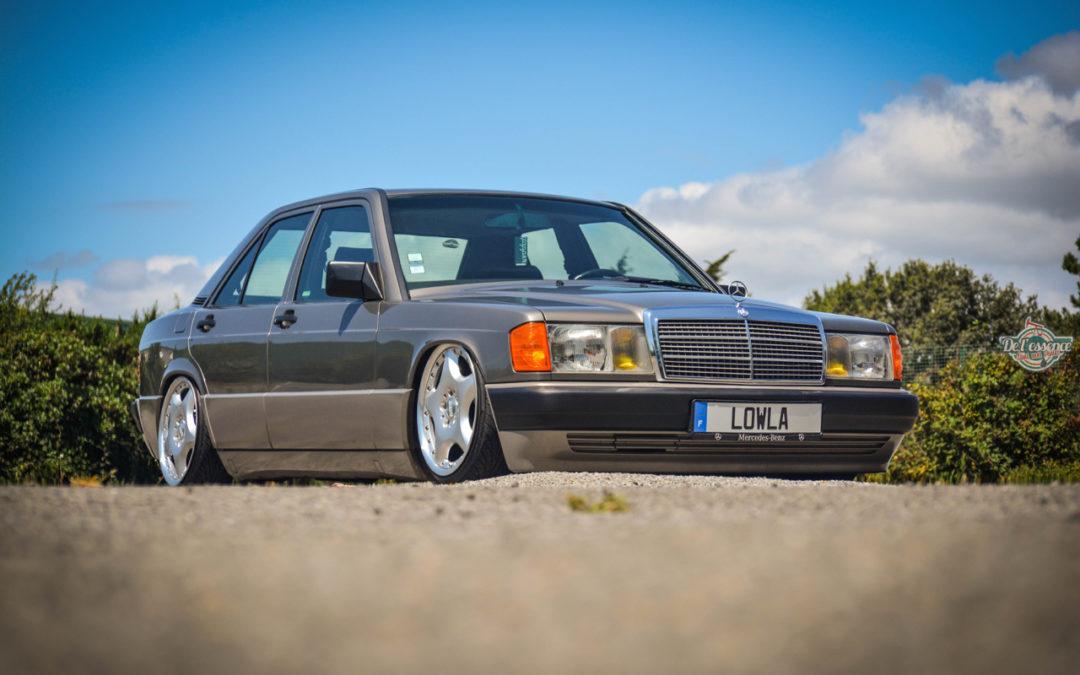 Mercedes 190E Airride – Low Basic !