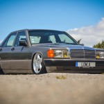 Mercedes 190E Airride - Low Basic !
