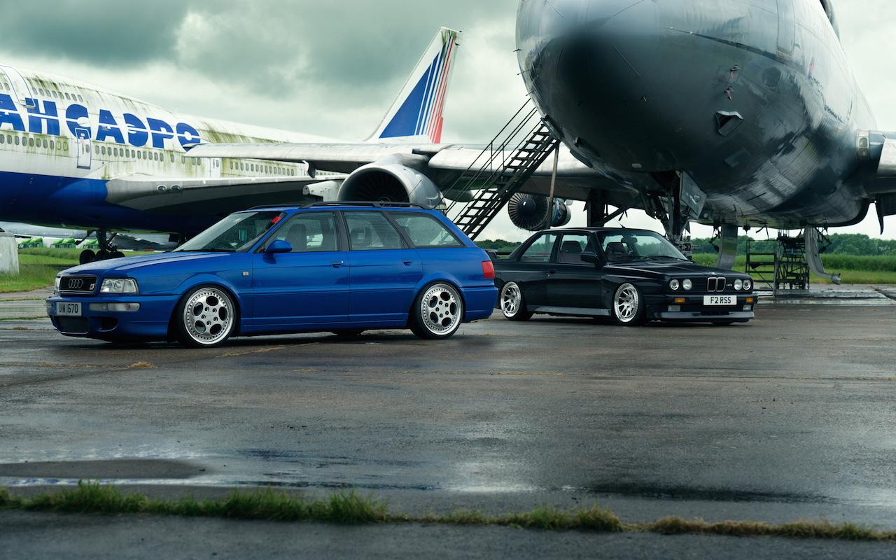 Bmw M3 E30 Amp Audi Rs2 Duo V I P Chez Les Youngtimers