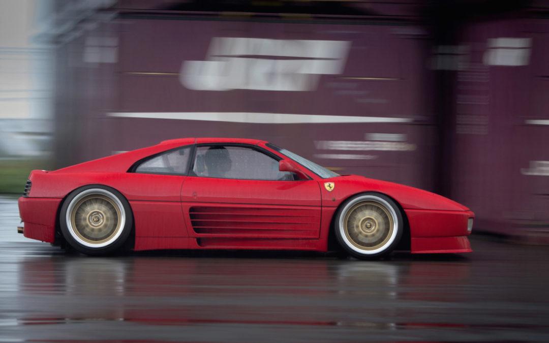 Ferrari 348 TS… posée !