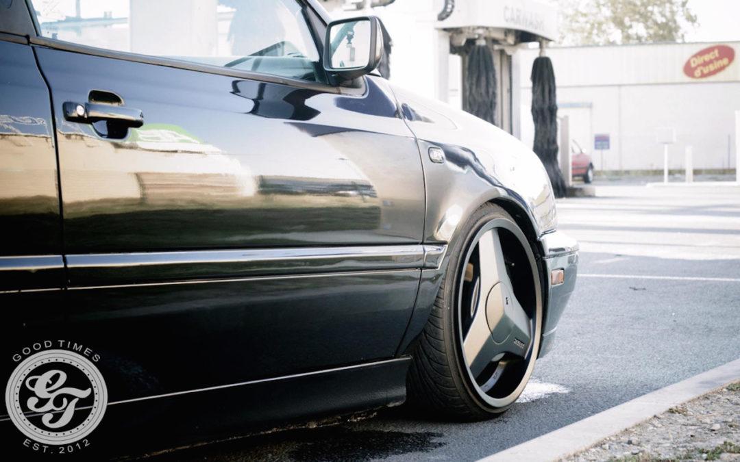 Golf III chaussée en Brabus… Cabby Daily !