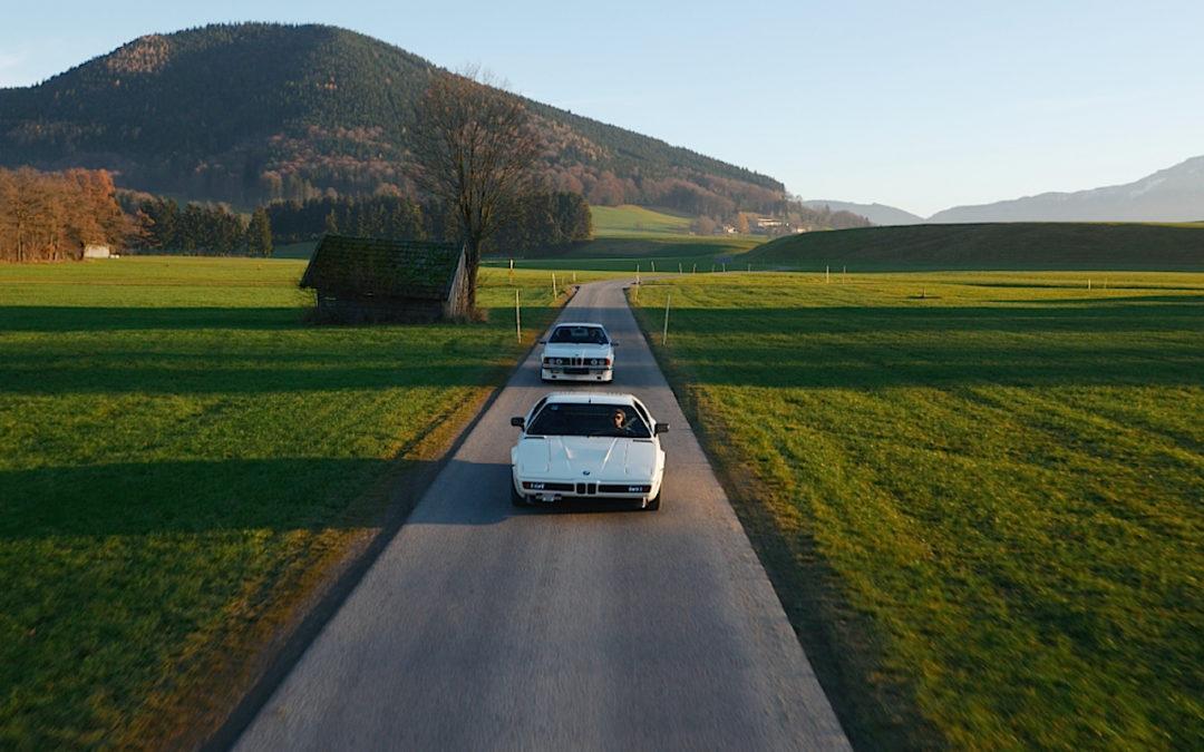 Weekend Heroes – Road trip en BMW M1 & Alpina B7…