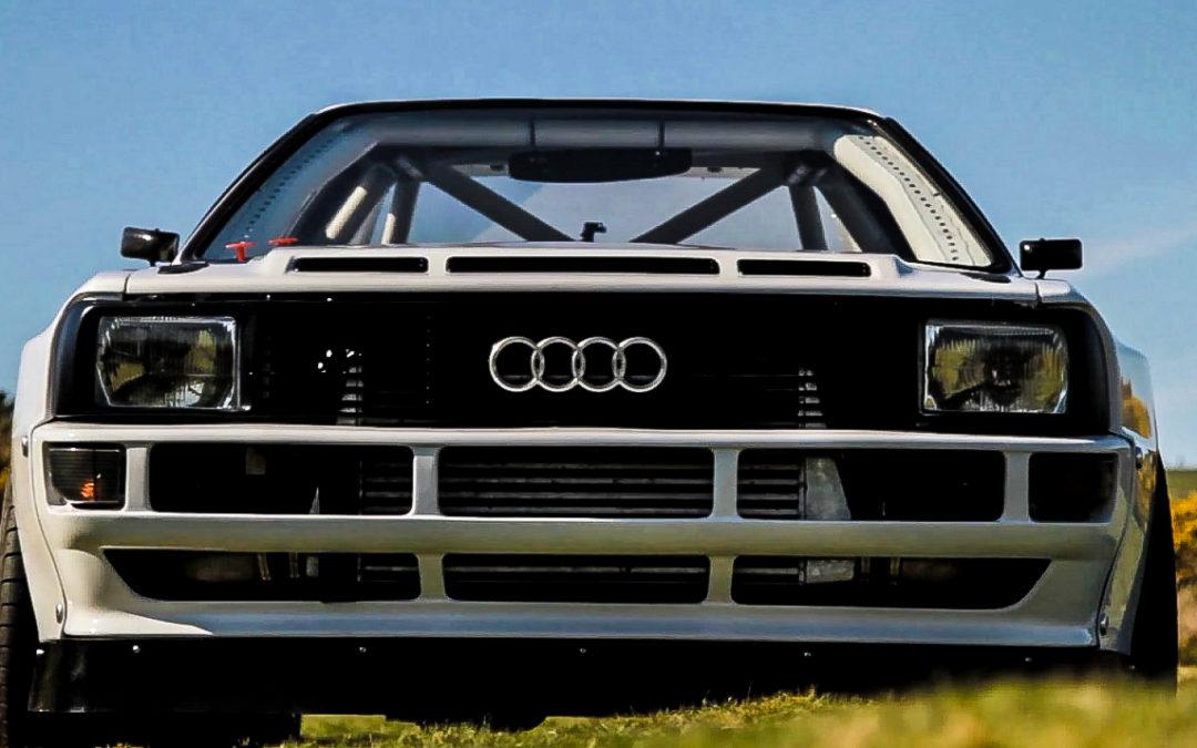 Audi Quattro S1 – Le diable s'habille en blanc
