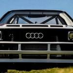 Audi Quattro S1 - Le diable s'habille en blanc