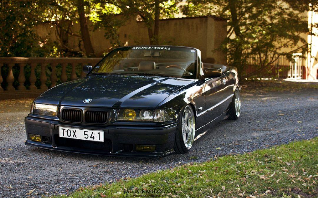 BMW 325i E36 Cab – Back to nineties !