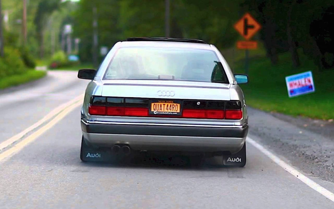 '91 Audi 200 Turbo en mode Launch Control !