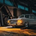 Bagged Audi 72... De l'air pour la 1ère...!