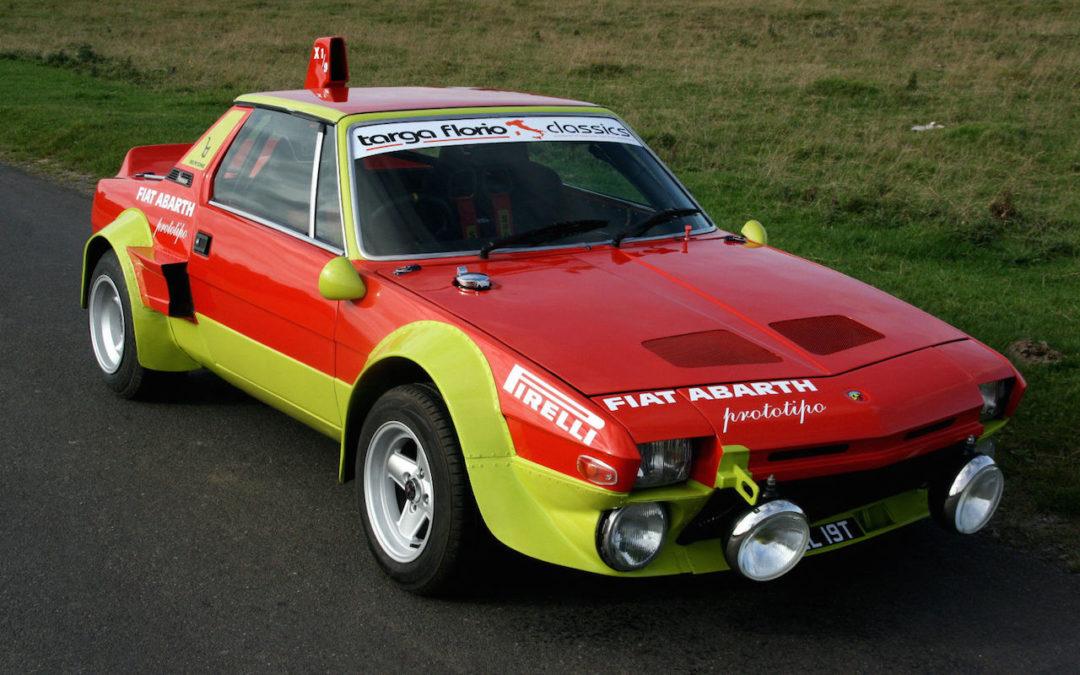 '78 Fiat X1/9 Abarth Prototipo – Sauce piquante !