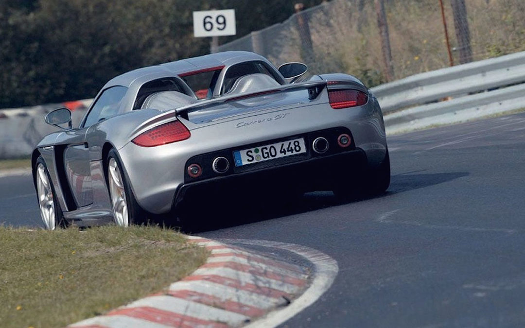 Une Porsche Carrera GT en enfer…