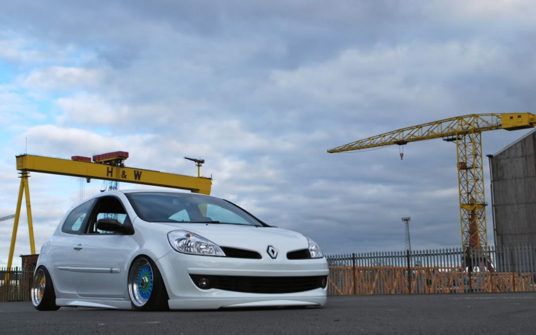 Bagged Clio BBS – Si si c'est possible !