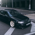 Static Saab 9-3 : Low swedish !