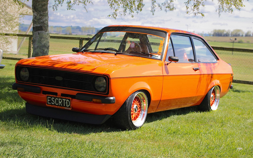 Escort MkII BBS – Full Orange !