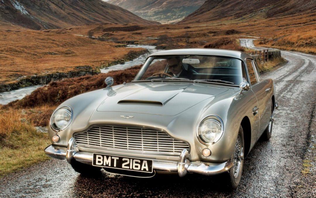 Aston Martin DB5 – Je suis Martin… Aston Martin !
