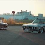 BMW E9 2800 CS + Volvo Amazon... Perfect !