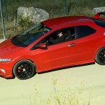 Romain's Honda Civic Type R… Red zone !