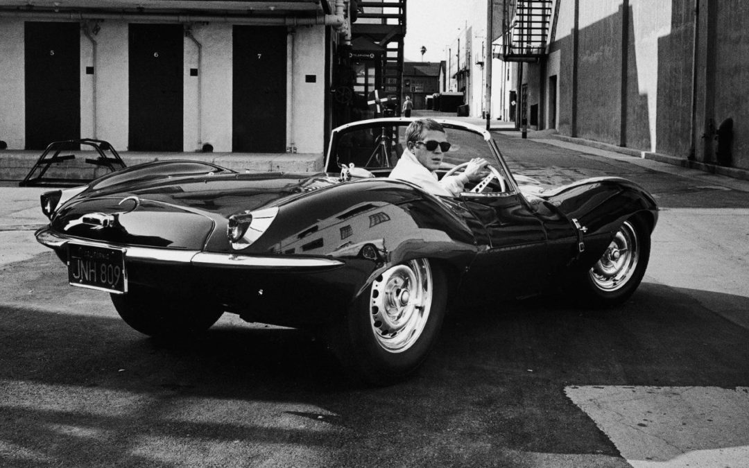 Jaguar XKSS… as Steve McQueen !