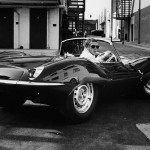 Jaguar XKSS... as Steve McQueen !