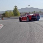 La Ferrari LaFerrari Aperta... Vettel lui met sa race !