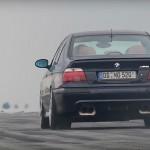 Supercharged BMW M5 E39… Torture de pneus !