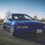 Honda Civic Static… Bitume'nic !