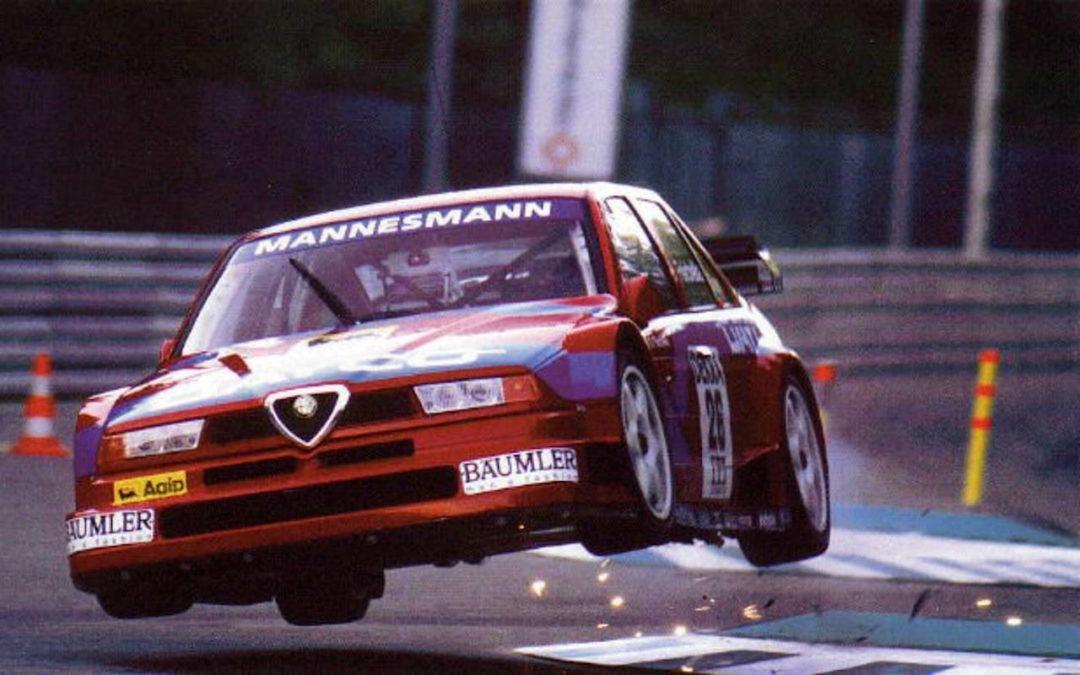 Alessandro Nannini en DTM : La Vendetta en Alfa 155 V6 Ti !