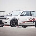 Hillclimb Monster : Nissan Sunny GTI-R... en RB26DETT !
