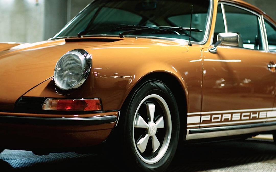 '73 Porsche 911 T – Road trip nocturne au Japon