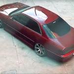 Toyota Chaser JZX100 Mark II... Slammed sedan !