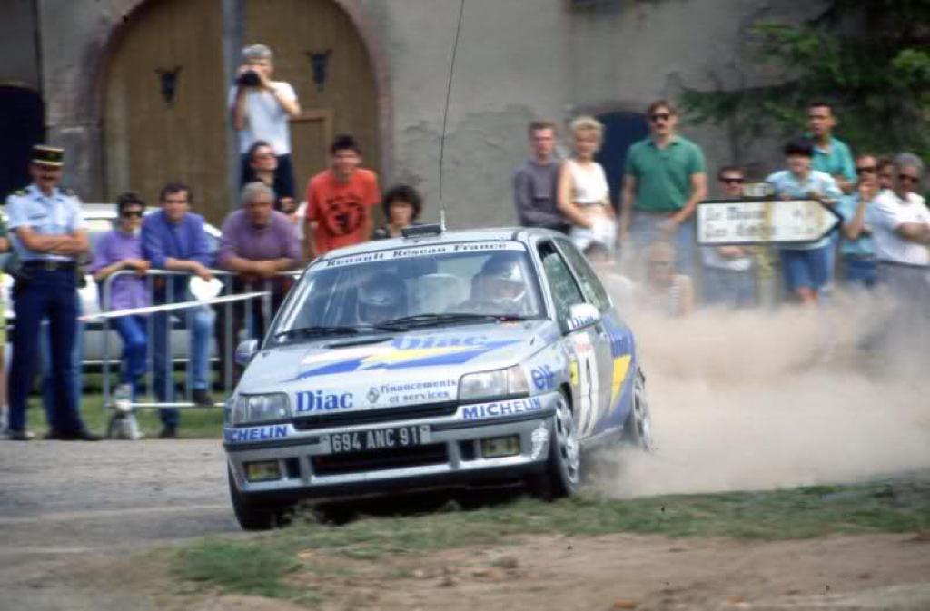 Jean Ragnotti en Clio Maxi... Show Time ! 3