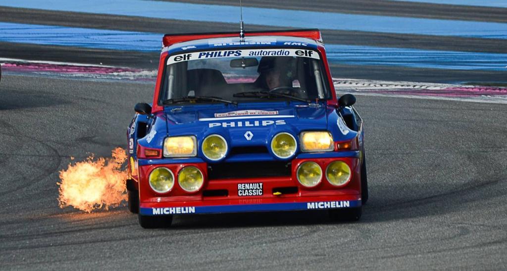 Jean Ragnotti en Clio Maxi... Show Time ! 6