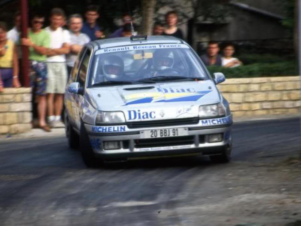 Jean Ragnotti en Clio Maxi... Show Time ! 7