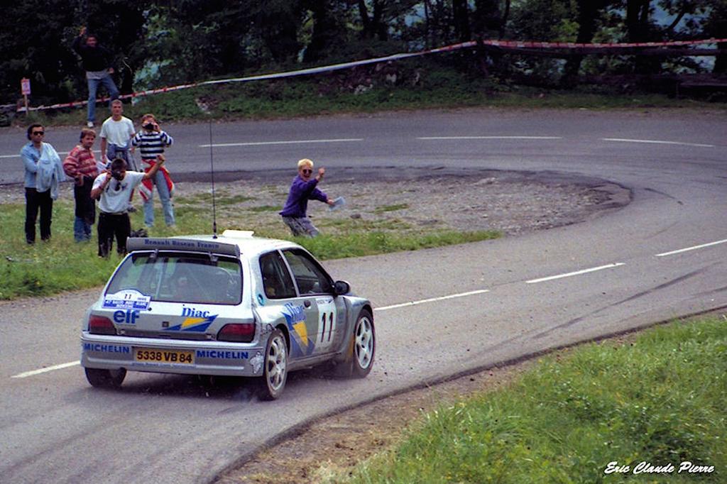 Jean Ragnotti en Clio Maxi... Show Time ! 4