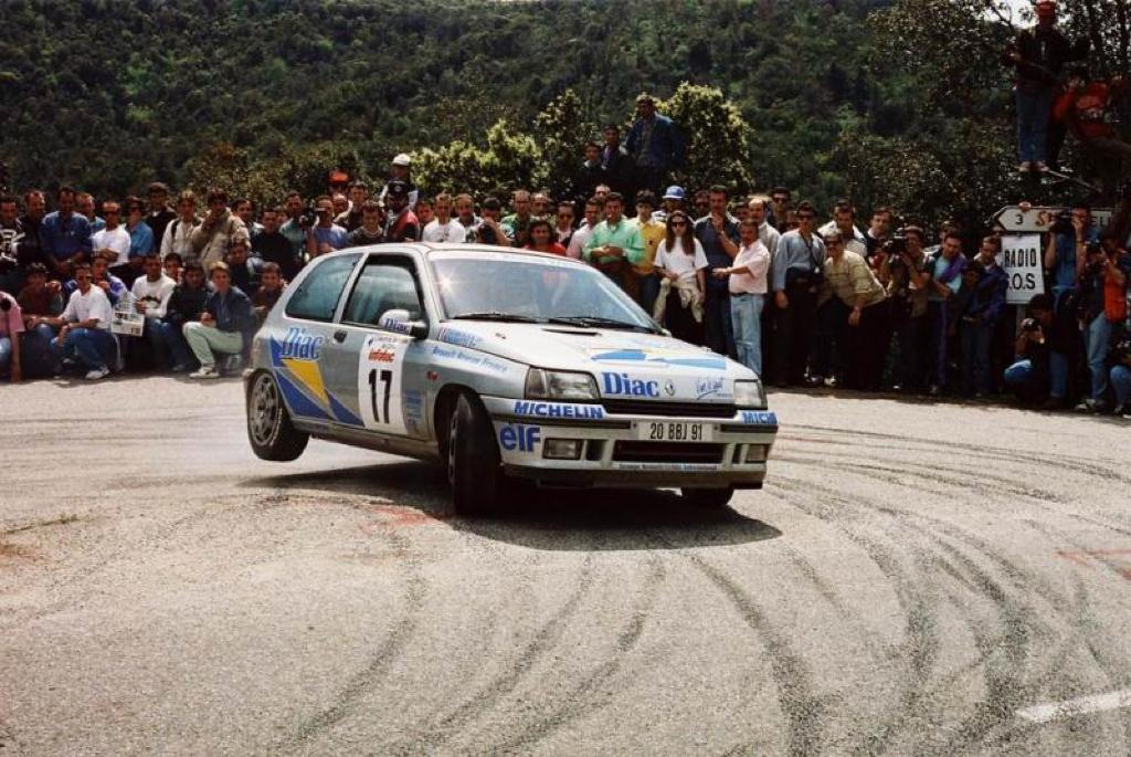 Jean Ragnotti en Clio Maxi... Show Time ! 8