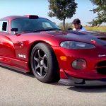Dodge Viper GTS-R en straight-pipe : Brutale ! 5