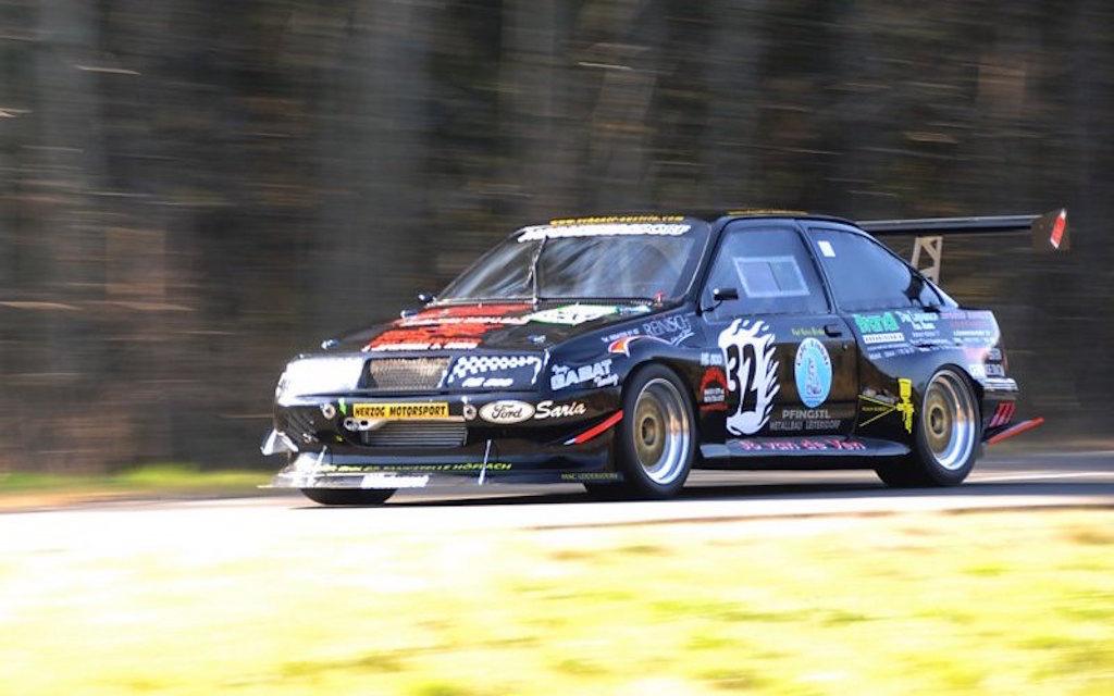 Hillclimb Monster : Ford Sierra RS500 Cosworth - La danseuse ! 2
