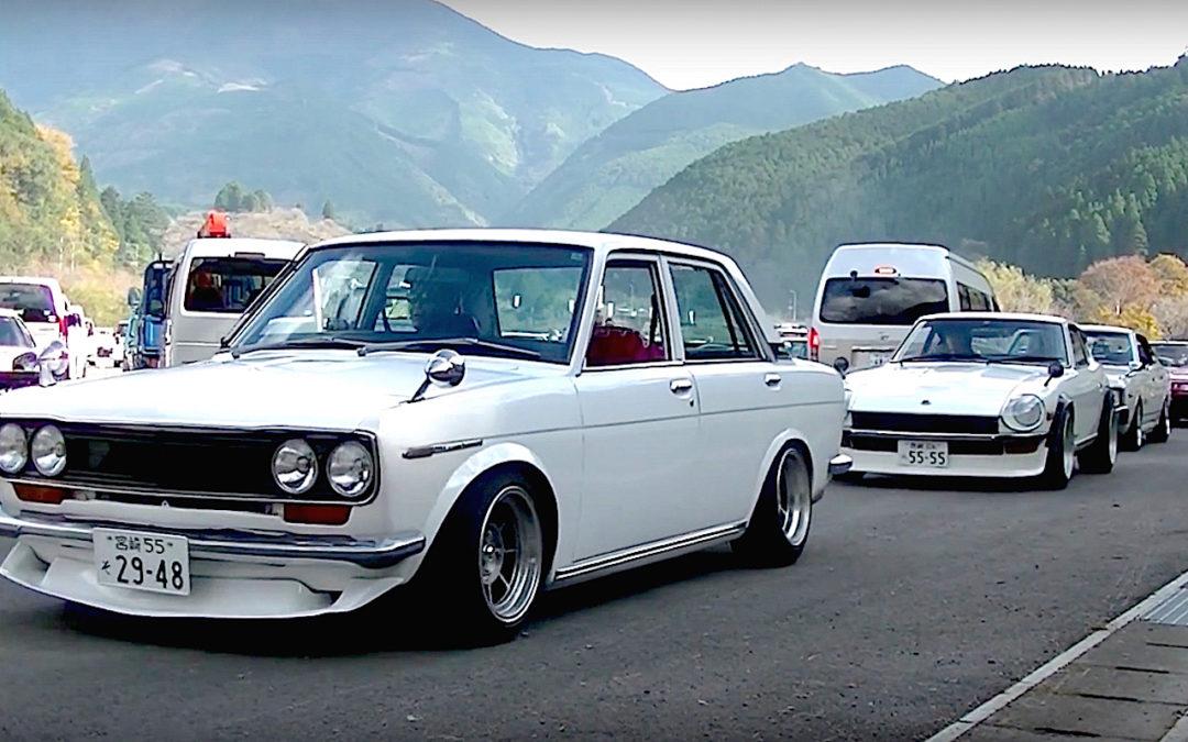 Classic japanese parade… Vous aimez les vieilles ?