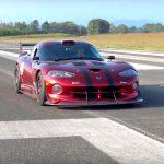 Dodge Viper GTS-R en straight-pipe : Brutale !