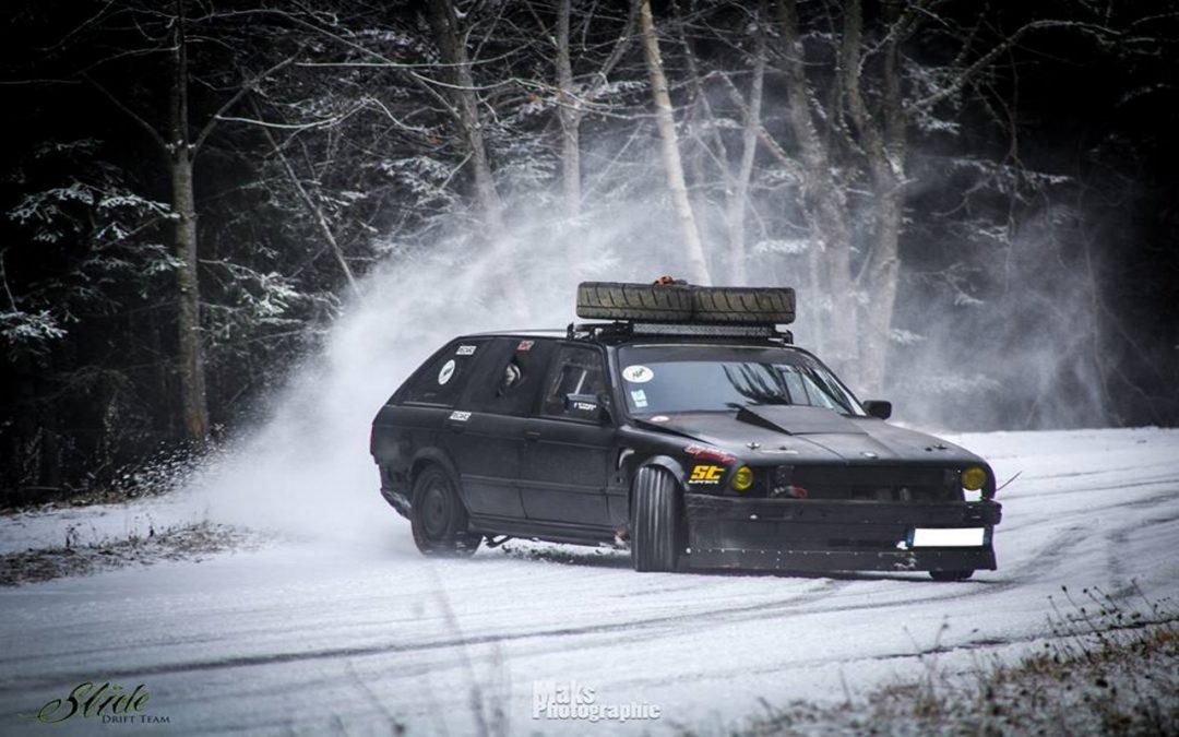 Drift in Snow 2K17 – Vin chaud et pneu cramé !