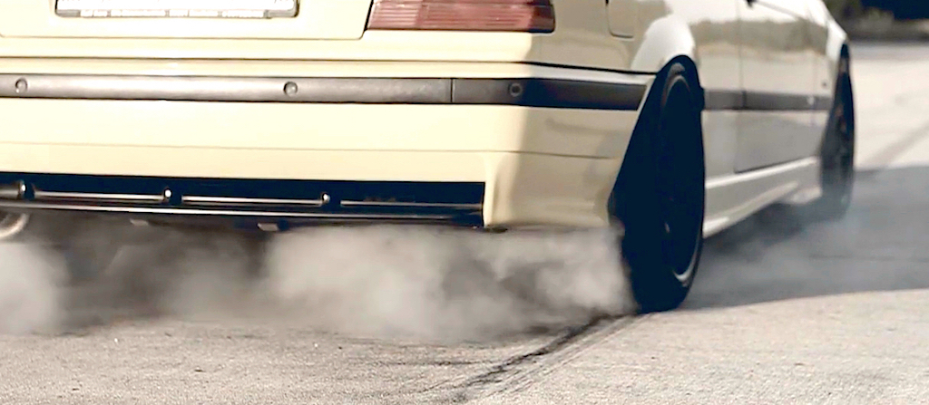 Supercharged BMW M3 E36... Fumeuse de pneus ! 1