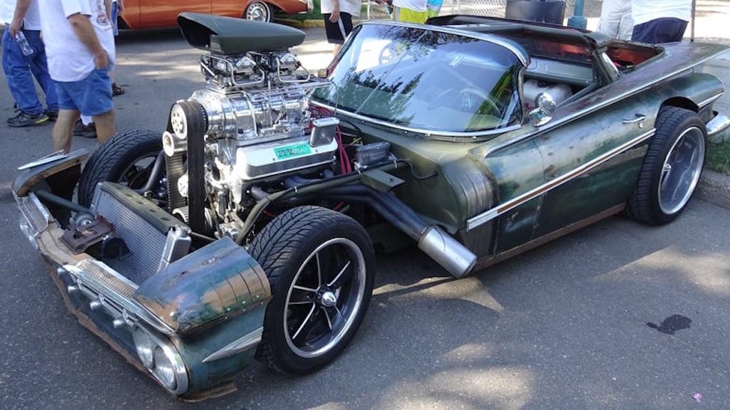 "Chevy Camino Blow Custom Rat Rod... ""Hulk Camino"" ! 2"