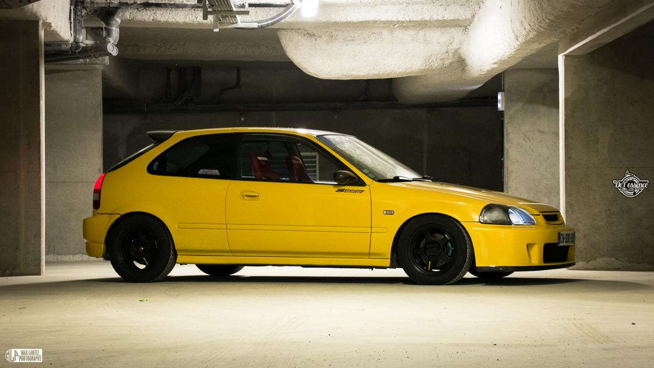 Honda Civic EK4 Spoon... Poussin sous amphet' 13