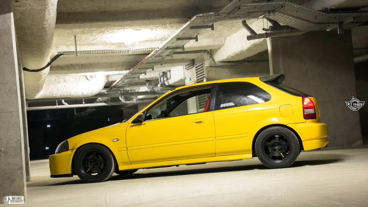 Honda Civic EK4 Spoon... Poussin sous amphet' 4